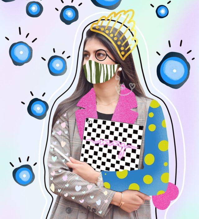 Princess ?  B*!$#, I am a queen 👑  📷 @asiya - - - - - - - - - #drawing #illustration #artmash #digitalart #Digitalartwork #art #arts #artist #makeart #summer #ipadpro #pencil #magic #procreate #viral #creation #gift #picturetodrawing #giftidea #customportrait #customdigitalillustration #familyillustration #giftidea #christmasgift #centralpark #winter #trending #photo #edit